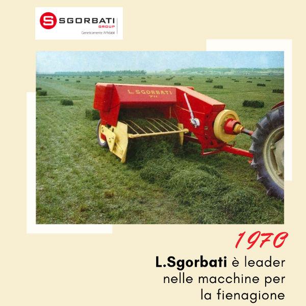 La storia di Sgorbati Group - Gli anni '70